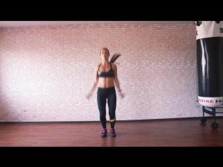 Домашний фитнес׃ мощная жиросжигающая тренировка