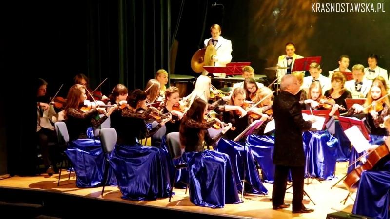 Orkiestra Symfoniczna im. M.K. Ogińskiego z Białorusi (część 1-2)