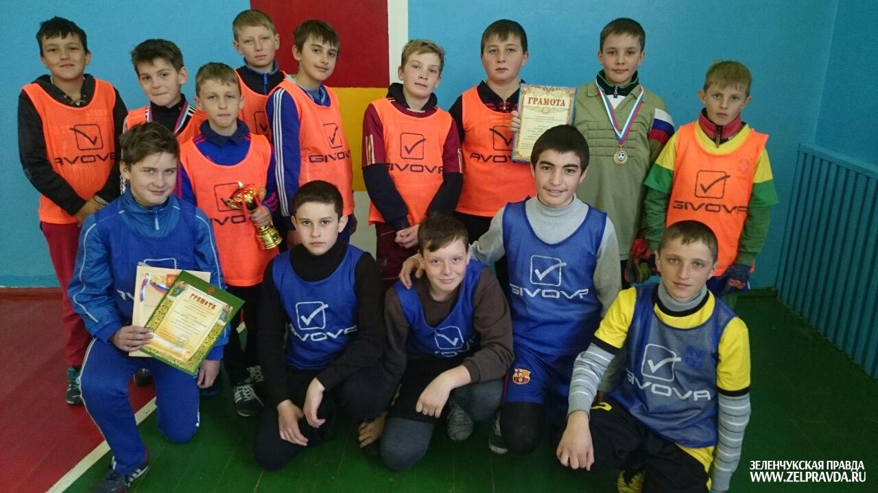 Футболисты из Зеленчукской приняли участие в Рождественском турнире