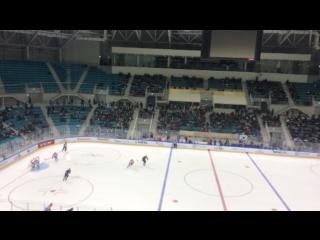 Хоккей. Южная Корея – Россия. 3-й период.