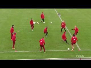 Типичная тренировка Баварии