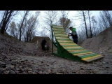 STroyka-wooden ramp for the first dirt