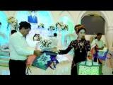 я на туркменской свадьбе