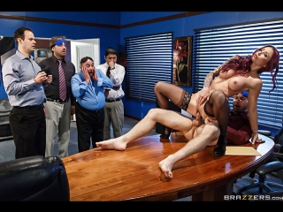 Monique Alexander [HD 1080, all sex, office, stockings, new porn 2017]