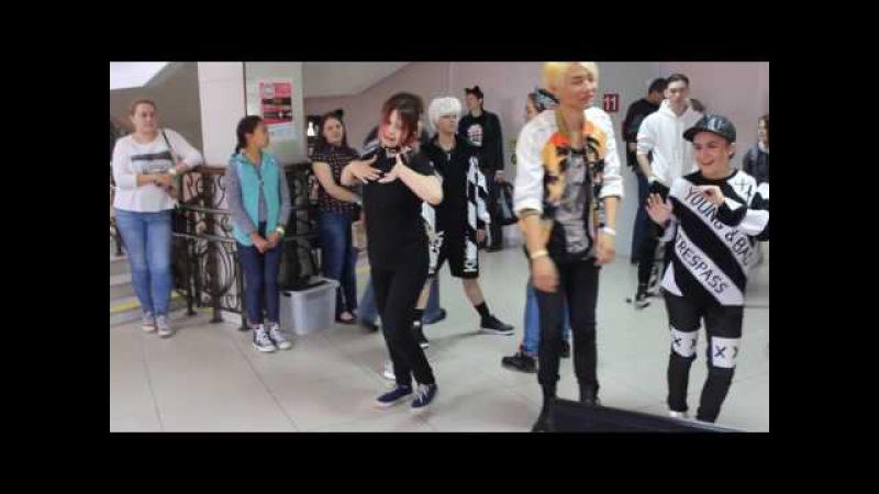 Random kpop dance challenge SOS 2016 Russia , Tomsk