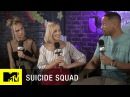 Suicide Squad Cast Tattooed Each Other Full Interview w Josh Horowitz MTV