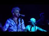 Adam Lambert - Let's Dance (David Bowie cover) - Crocus City Hall - Moscow - 18.04.16