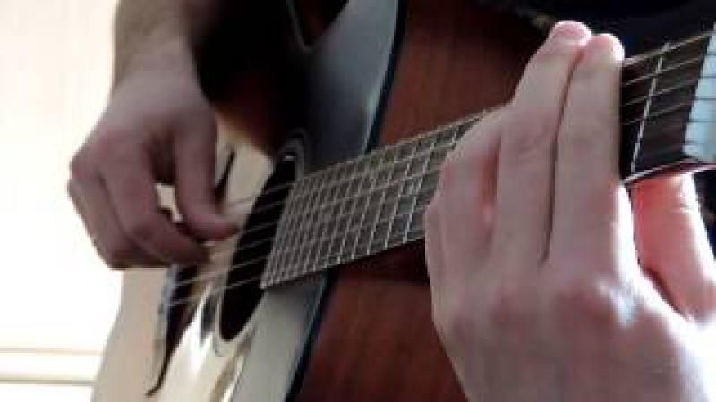 Моральный кодекс ~ Первый снег First Snow (fingerstyle guitar)