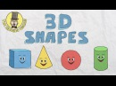 3D Shapes Song | Shapes for kids | The Singing Walrus
