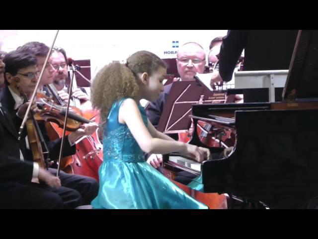 Varvara Kutuzova 12yo Мozart Сonсerto № 21 (Votkinsk)