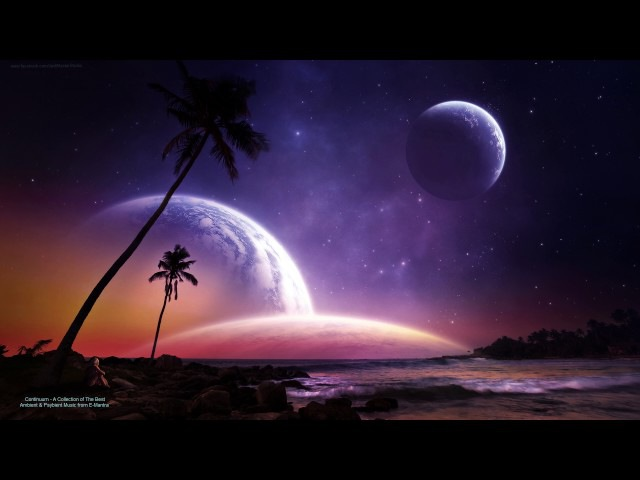Ambient, Psybient Mix - Continuum by E-Mantra - A Collection of The Best Psybient Ambient Music