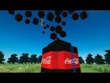 10 000 ЛИТРОВ КОКА-КОЛЫ + МЕНТОС В МАЙНКРАФТЕ! БЕЗ МОДОВ! / 10 000 liters of Coca-Cola in MINECRAFT