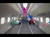 OK GO и S7 - тем временем в кабине пилота