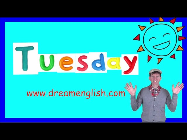 Tuesday Song for the Classroom