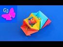 Оригами органайзер для мелочей из бумаги ❤️ Организация рабочего стола ❤️ Снова в школу