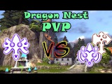 Dragon Nest PVP Бестия vs Джаггернаут amp Защитница Flurry vs Destroyer amp Sting Breezer