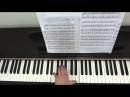 М. Легран Жди меня из к/ф Шербургские зонтики. Видеоурок для фортепиано.
