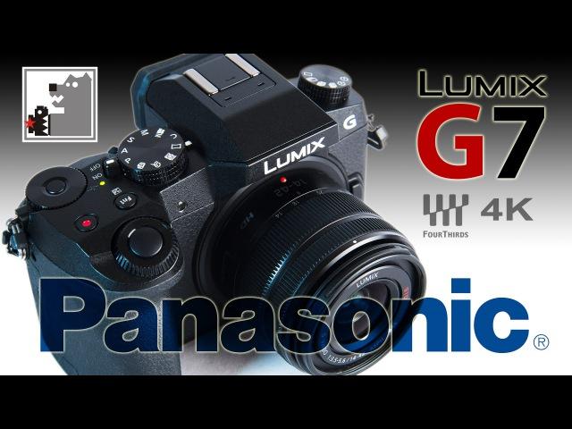 Panasonic Lumix G7. Фотоаппарат видеокамера ...
