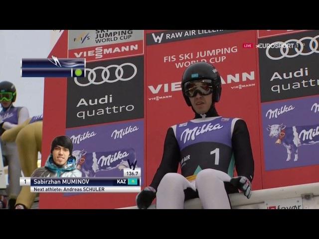 Прыжки с трамплина 2017 Лиллехаммер Муж. Квалифик.Ski jumping Lillehammer 2017 men's Qualific.