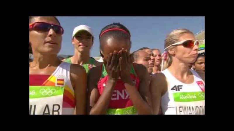 Women's marathon |Road running |Rio 2016 |SABC