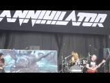 ANNIHILATOR Intro, King of the Kill 15 7 2016 Balingen Bang your Head Festival 2016
