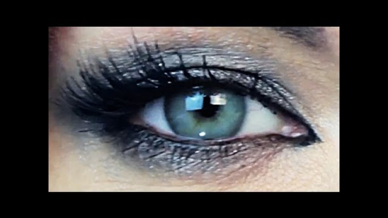 Уроки макияжа. Красивый макияж глаз Смоки Айс. Вечерний макияж Smoky Eyes