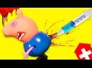 Свинка Пеппа Очень БОЛЬНО мультик все серии игрушки для детей на русском языке