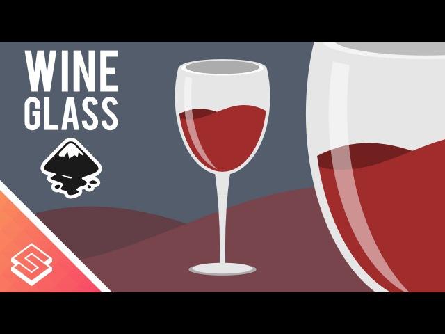 Inkscape Tutorial: Vector Wine Glass