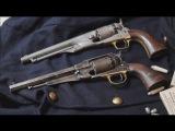 Original 1858 Remington New Model Army vs original Colt 1860 Army percussion revolver