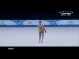Дина Аверина булавы (квалификация) - Кубок Мира Ташкент 2017