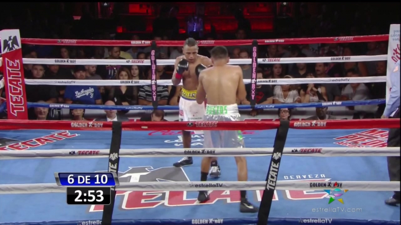 Oscar Negrete vs Jose Bustos (01-07-2016)