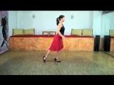 Женские техники от Sonja Armisén (2). Техника шага (вперёд, назад, в сторону).