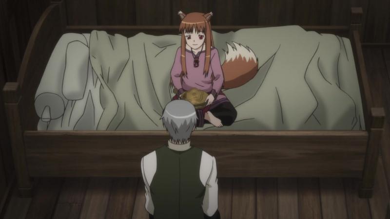 Ookami to Koushinryou II (TV-2) / Spice and Wolf II / Волчица и Пряности ТВ-2 - 7 серия   Lupin Silv [AniLibria.Tv]