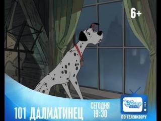 «101 Далматинец / One Hundred And One Dalmatians» только на Канале Disney!