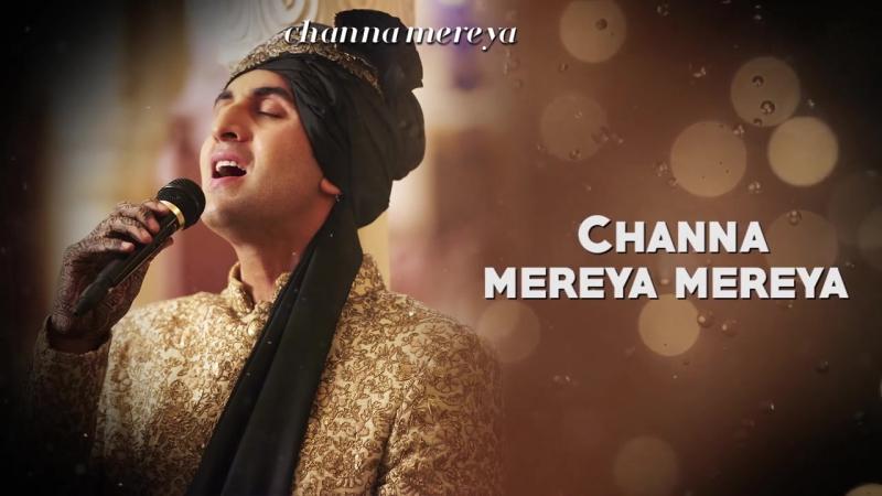 Channa Mereya - Lyric Video _ Ae Dil Hai Mushkil _ Karan Johar _ Ranbir _ Anushk_HD