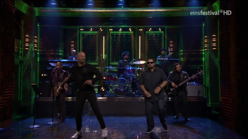 Ice Cube Common - Real People (The Tonight Show Starring Jimmy Fallon - 2016 apr11)