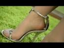 Footfetish - Fußfetisch in High Heels und Pantyhose