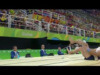 Французский гимнаст Самир-Аит Саид получил тяжелейшую травму при выступлении