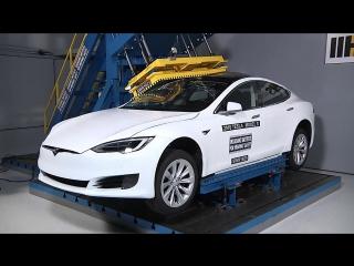 Гидравлический пресс vs Tesla Model S
