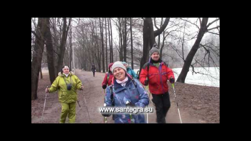 Жить это так здорово!Скандинавская ходьба на Елагином, Санкт-Петербург, 02 апреля...