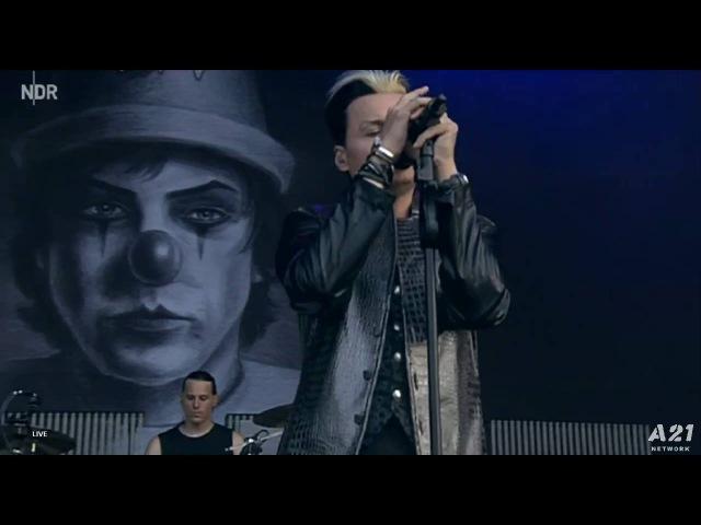 Lacrimosa Live at M'era Luna Festival 2016 NDR, HD 720p, 13/08/ 2016