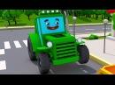 Tractors for Kids Funny Tractor for Kids Traktor Kompilacja Animacje dla Dzieci po Polsku