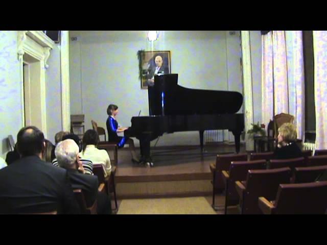 Иван Карабиц 5 прелюдий для фортепиано