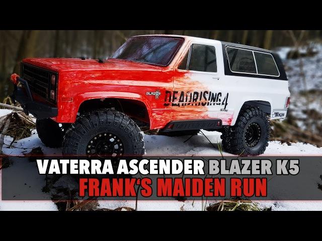 Vaterra Ascender Blazer K5 Franks Maiden Run