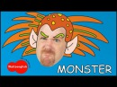 Monster for Children | EFL Song for Kids with Steve and Maggie from Wow English TV