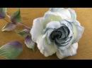 Мастер классы Японской школы шелковой флористики Tanjobana Розы из шелка по мотивам Somebana