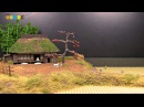 Diorama Autumn Countryside ミニチュア秋の田園風景作り