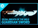 3D Printing Zelda: Breath of the Wild – Guardian Sword with NeoPixel LEDs