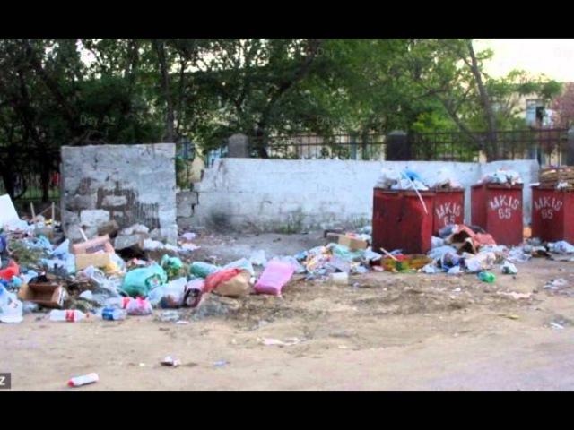 Баку самый грязный город мира