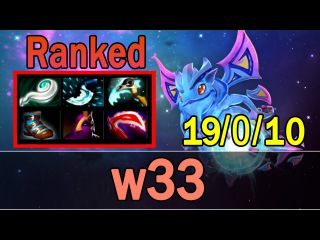 Dota 2 - w33 Plays Puck | Ranked Match